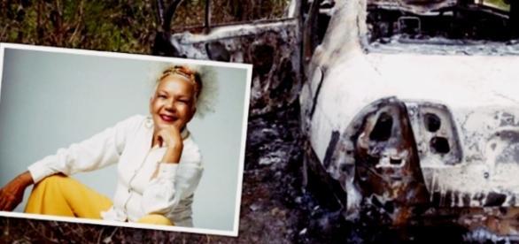 Cantora morreu carbonizada - Imagem/Google