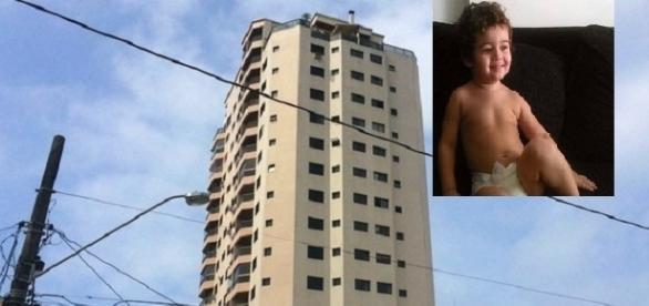 Criança morre ao cair de prédio no interior de São Paulo