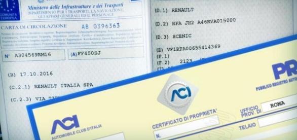 Documento Unico di Circolazione - Fonte: - blogspot.com
