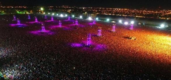 Evento contou com público de 550 mil pessoas.