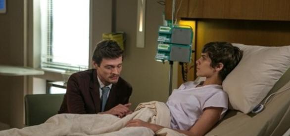 Antonio e Letícia na novela 'A Lei do Amor' (Divulgação/Globo)