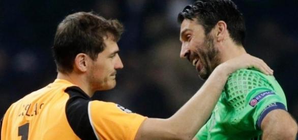 Juventus X Porto terá Buffon x Casillas