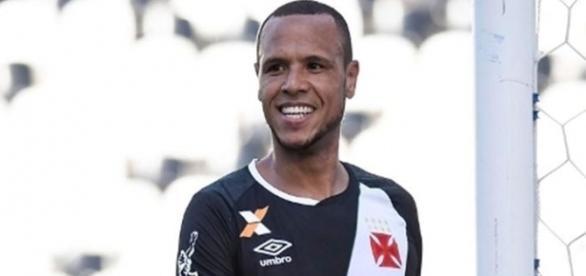 Luis Fabiano fez seu primeiro jogo com a camisa do Vasco (Foto: ESPN)
