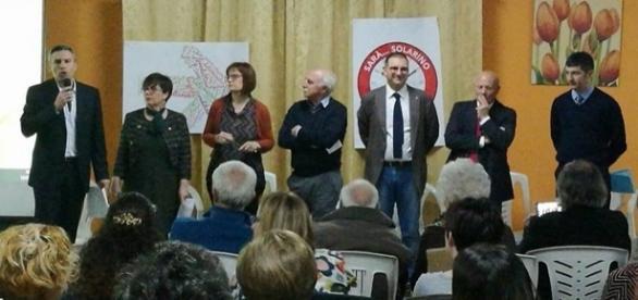 Michele Gianni ufficializza la candidatura a Sindaco presso la Casa delle Api
