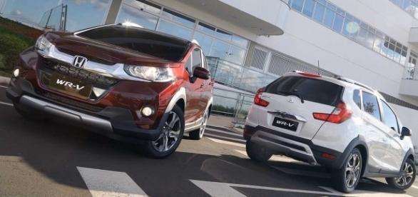 """Apresentado como um """"SUV compacto"""" pela montadora, o WR-V não passa de uma versão com adereços 'off-road' do Fit"""