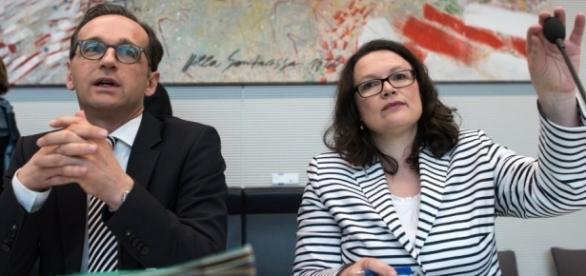 Heiko Maas und Andrea Nahles - news38.de - news38.de