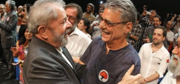 Lula e Chico Buarque estarão juntos no Estado da Paraíba
