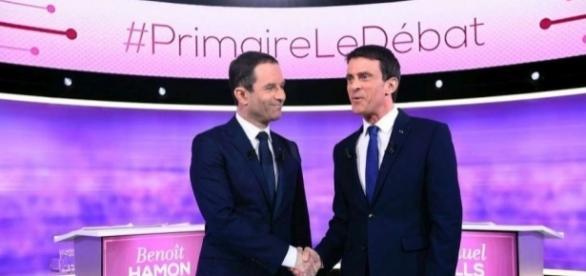 Manuel Valls s'éloigne de Benoît Hamon