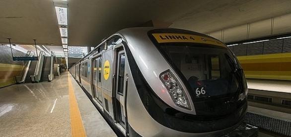 MPF investiga pagamentos de propina em contratos da construção da Linha 4 do metrô do Rio.