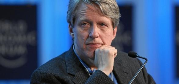Noted economist and author Robert Shiller has commented on the stock market as 'way overvalued' / World Economic Forum, Wikimedia Commons CC BY-SA 2.0