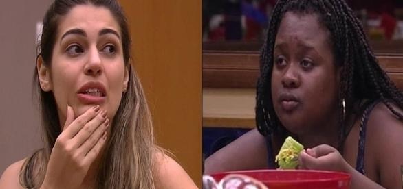 Vivian ironizou algumas características da sister (Foto: reprodução TV Globo)