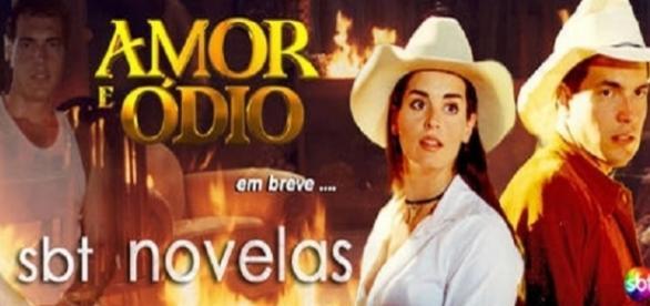 'Amor e Ódio', com Suzy Rêgo, deve ser reprisada no SBT em breve (Foto: Reprodução)