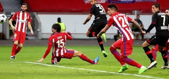 Atlético de Madrid se impuso 4-2 en el marcador global al Bayer Leverkusen - beinsports.com