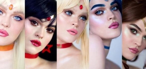 Artista ''se transforma'' em personagens do anime Sailor Moon. Reprodução: Instagram/Picturresque