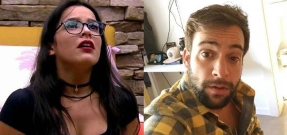 Ex-namorado de Emilly afirma que ela é uma das pessoas mais falsas que ele conheceu.