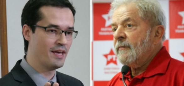 Ex-presidente Lula entrou com ação contra o procurador da Lava-Jato, Deltan Dallagnol
