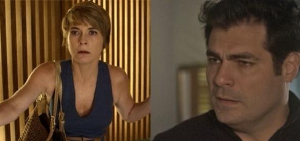Imagem: Helô e Ciro em 'A Lei Do Amor'