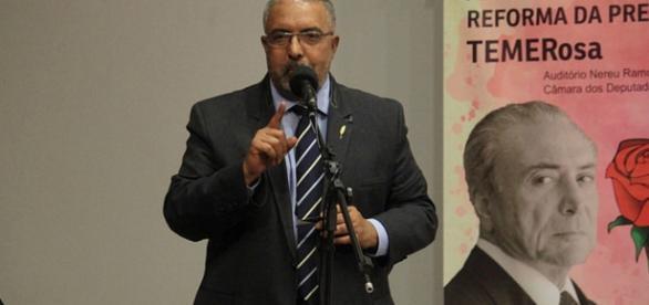 Reforma da Previdência Teme Rosa Frente Parlamentar Mista em Defesa da Previdência (Divulgação/Paulo Paim)