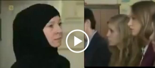 NIE. TAK BYĆ NIE BĘDZIE! Muzułmanka w TVNie CHRZANI dzieciom o Szariacie [WIDEO]