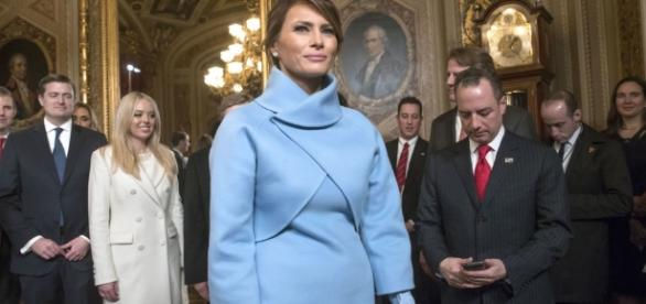 Melania Trump Inauguration Day Outfit Meaning - Why Melania Trump ... - harpersbazaar.com