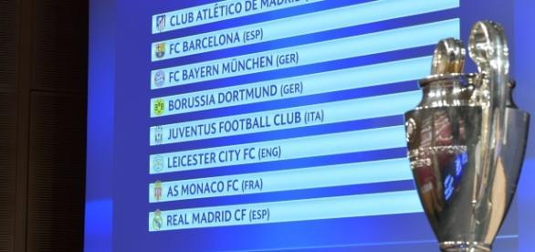 Quedaron definidos los partidos de cuartos de final de la Liga de Campeones 2016-2017. (Foto tomada de twitter)