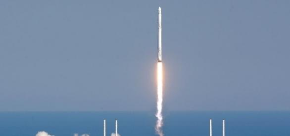 SpaceX Rocket Lands On A Ship At Sea Without Exploding For the ... - npr.org