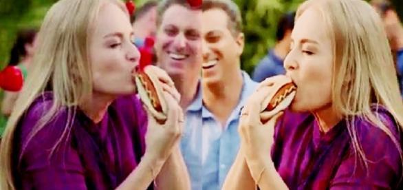 Após 'carne podre' aparecer, Angélica diz que é vegetariana e acaba humilhada; veja