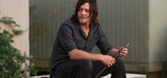 "Daryl Dixon no 14º episódio da sétima temporada de ""The Walking Dead"""