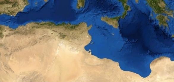 I Paesi che si affacciano sul Mediterraneo