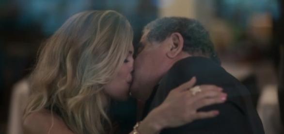 Luciane e Venturini na novela 'A Lei do Amor' (Divulação/Globo)