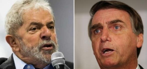 Lula e Bolsonaro podem ser punidos por propaganda antecipada (Foto: Reprodução)