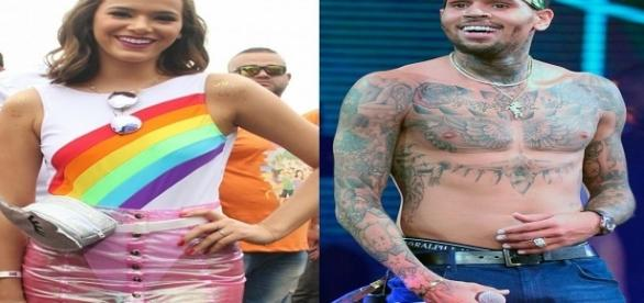 Chris Brown segue Bruna Marquezine