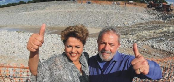 O ex-presidente Lula estava disposto a entrar nas águas do 'Velho Chico', mas foi aconselhado a não fazer isso.