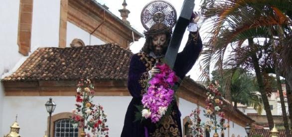 A Irmandade do Senhor Bom Jesus dos Passos revive com fé e religiosidade as Comemorações do Passos na cidade de São João del-Rei