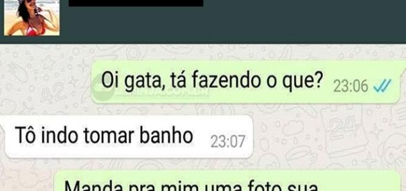 Conversas hilarias do whatsapp