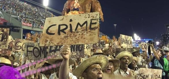 Desfile no RJ foi marcado por tragédias
