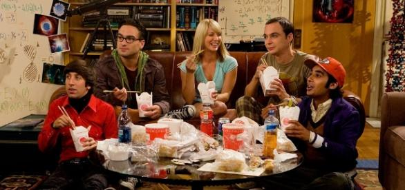 El cast original de The Big Bang Theory.