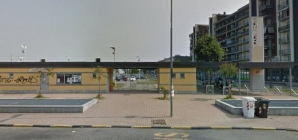 Il parcheggio di interscambio alla stazione Fermi, Collegno.