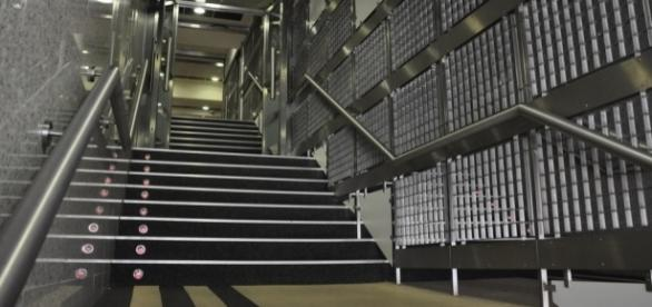 Le tunnel de Santiago Bernabéu
