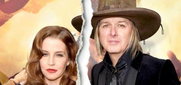 Lisa Marie Presley está pobre e em processo de divórcio