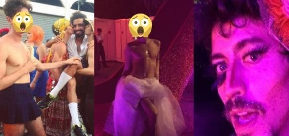 No Carnaval, atores globais aprontaram - Google