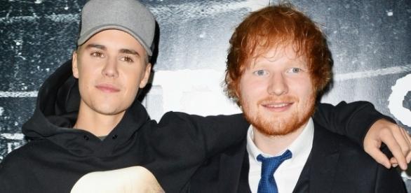 Os dois cantores são bons amigos