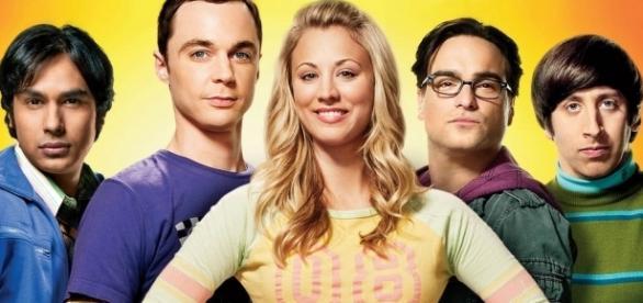Parte do elenco de The Big Bang Theory