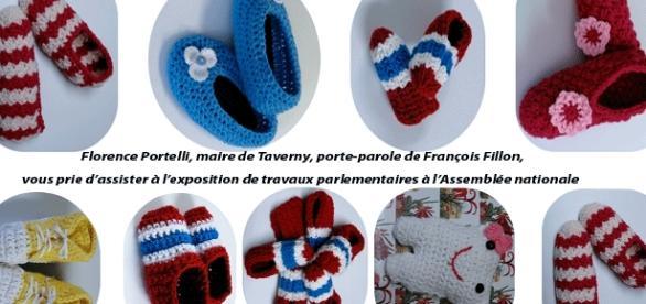 Pour Florence Portelli, maire de Taverny et porte-parole de François Fillon, le tricotage fait partie des travaux parlementaires