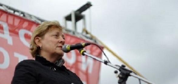 Russische Oppositionspolitikerin Svetlana Lada-Rus