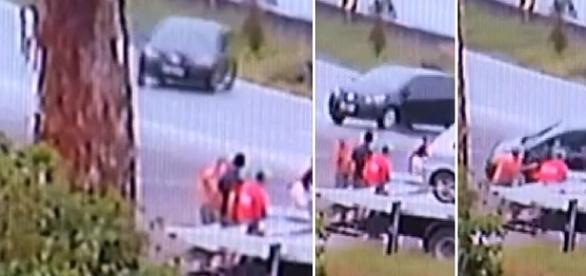 Veículo em alta velocidade mata três pessoas na rodovia Fernão Dias.