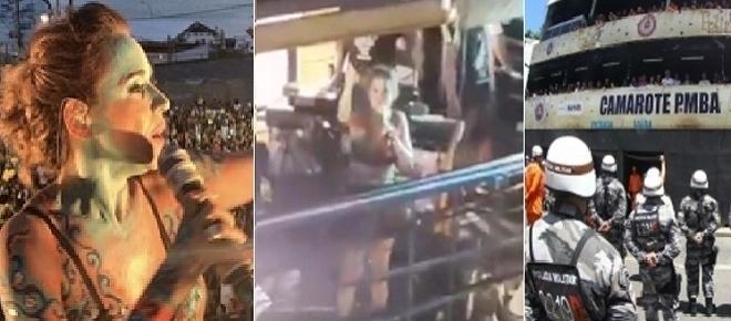 Daniela Mercury não toca em frente a camarote da PM e causa revolta; vídeo