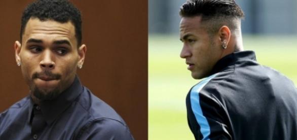 Chris Brown começa a seguir Bruna Marquezine e Neymar manda recado