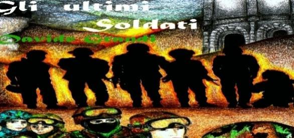"""cover eBook """"Davide Grandi"""", science fiction *by www.amazon.com"""
