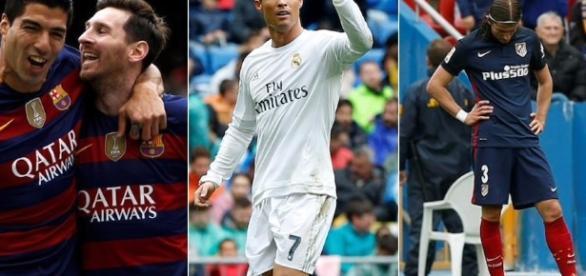 El Atlético pierde y deja a Barça y Real Madrid como únicos ... - libertaddigital.com